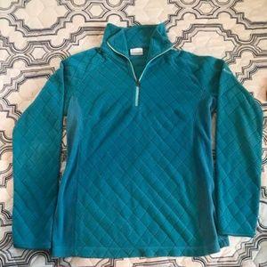 Columbia pullover/quarter zip